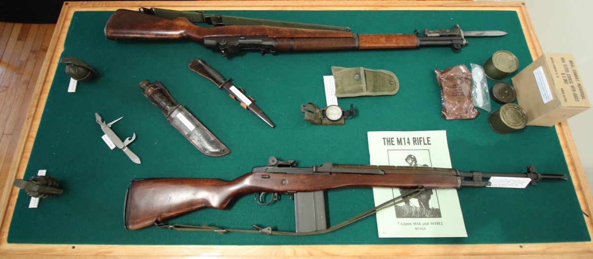 Vietnam War Display Table